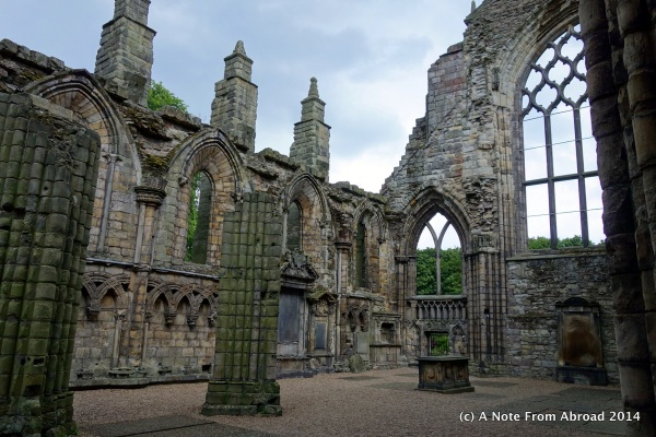 Holyrood Abbey ~ Edinburgh, Scotland