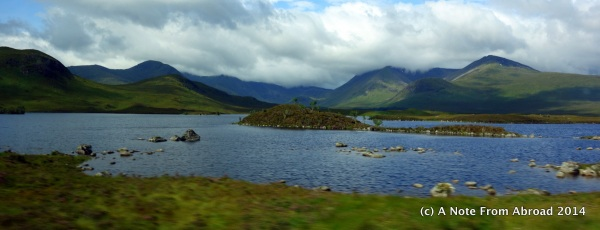 One of several lochs (lakes) we passed along the way
