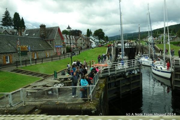 Lock system at the Loch