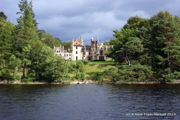 One of several beautiful castles/palaces/manor homes we saw along the cruise