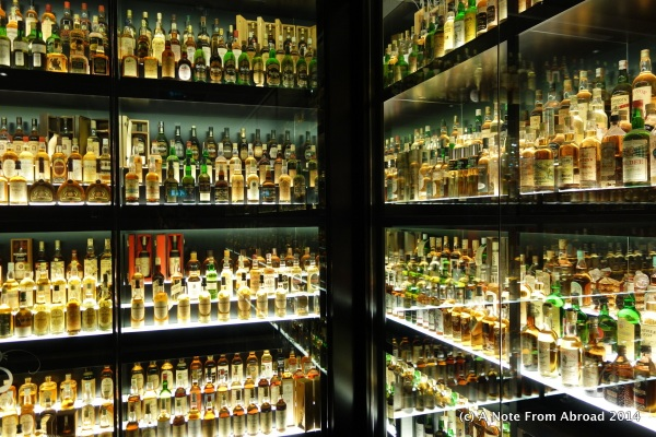 Worlds largest Scottish Whiskey collection