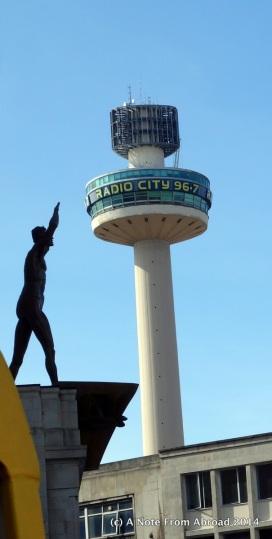 Naked Man and Radio Tower