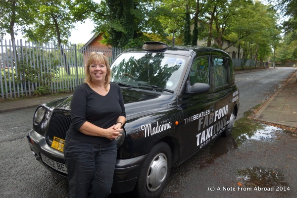 "Debbie and our Fab Four Taxi ""Madonna"""