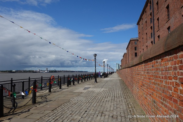 Liverpool, along the Mersey Riverside