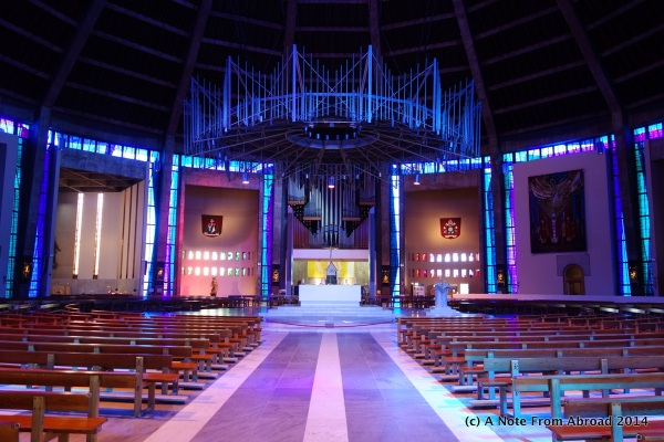 Interior of Metropolitan Cathedral