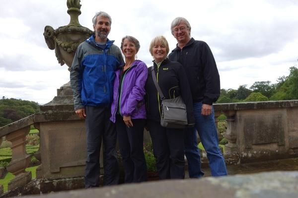 Charlie, Lise, Joanne, Tim (photo courtesy of Lise Brown)