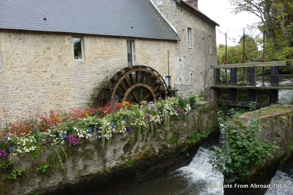 Town of Bayeux, France