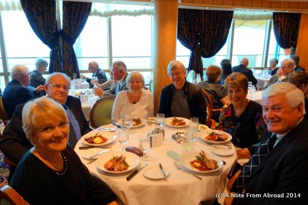 L to R: Colleen, Dennis, Joanne, Tim, Gaye, Daryl