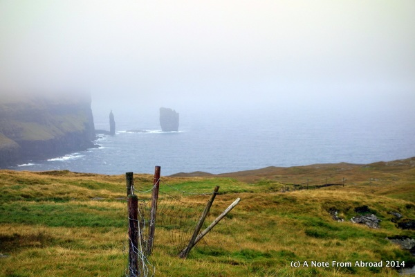 Fog and rain, wind and ?