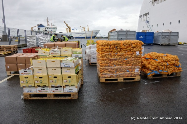 Restocking in Iceland before 5 days at sea
