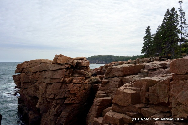 Rocks near Thunder Hole