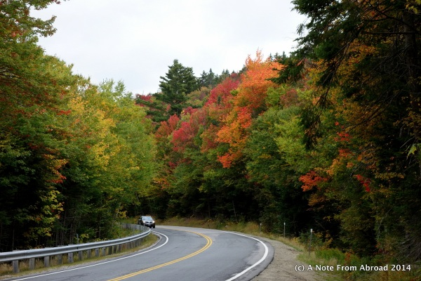 Driving the Kancamagus Highway