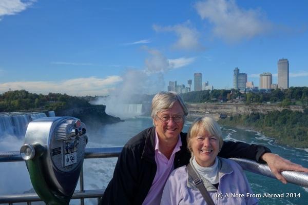 Tim and Joanne at Niagara Falls