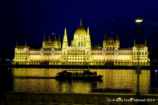 Parliament building on the Danube River ~ Budapest, Hungary