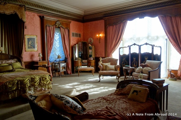 Master bedroom of the mistress of the house