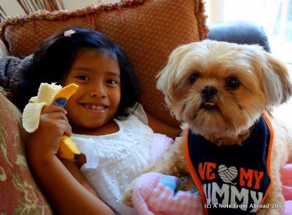 Gabriella and Teddy Bear