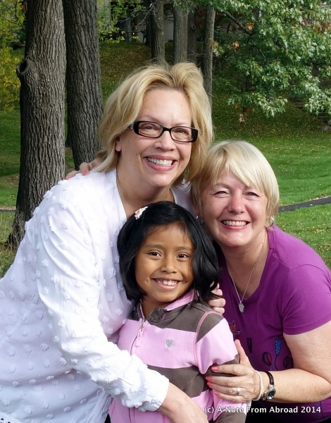 Mary Beth, Gabriella and Joanne