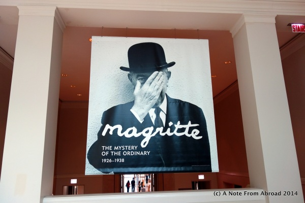 Magritte special exhibit