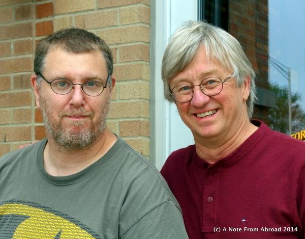 Steve and Tim