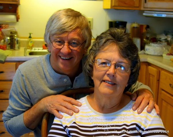 Tim and his step-mom (Nancy)