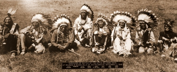 Survivors from Little Big Horn
