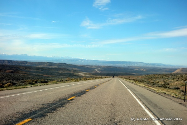Wyoming was looking pretty desolate to me by now