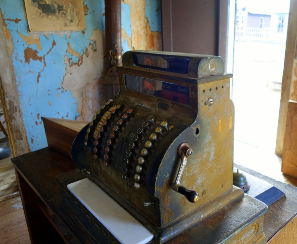 Old time cash register