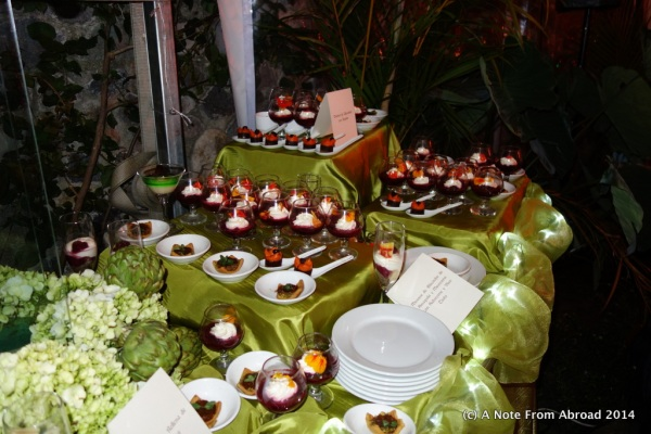 Just a small portion of the dessert bar