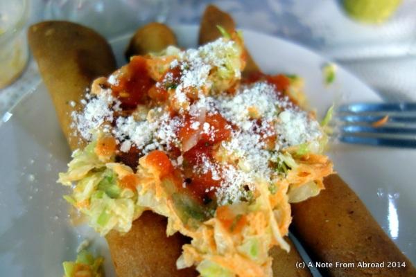 Taco - Guatemalan style