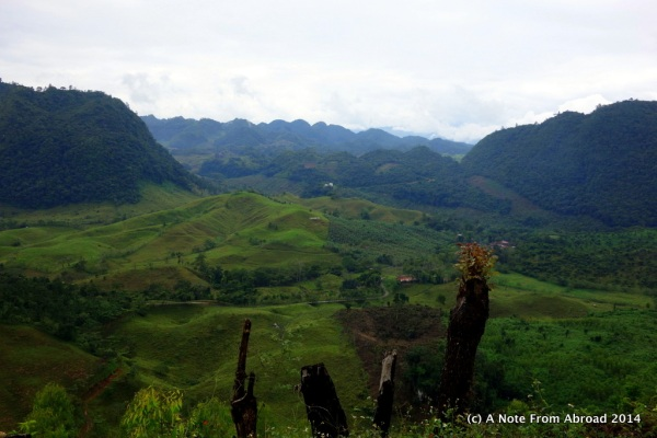 On the road from Semuc Champey toward Coban