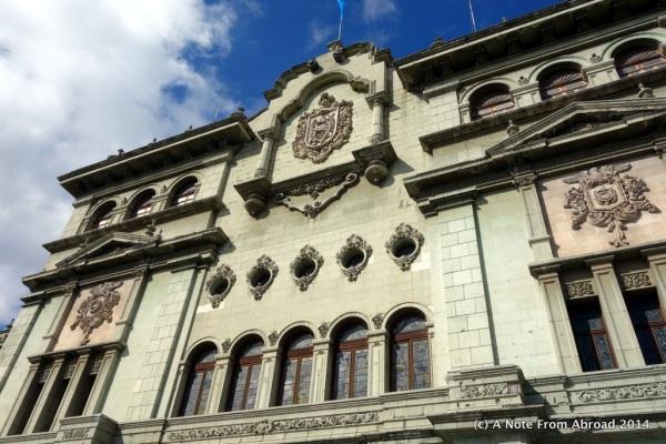 Palacio Nacional, Guatemala City.
