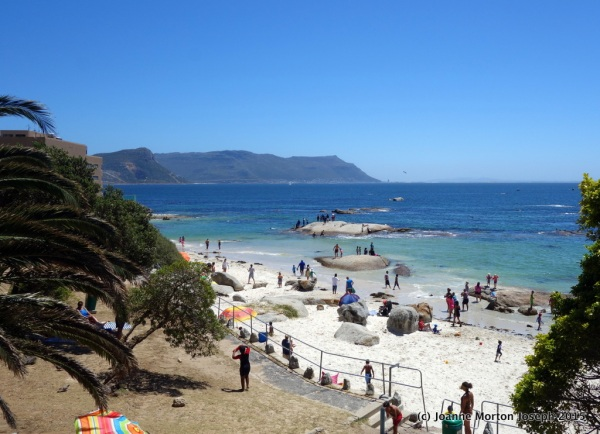 Beach at Simons Town