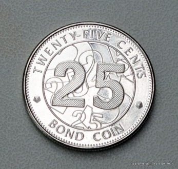 25 cent bond coin