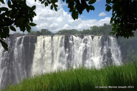 View from Zambia side
