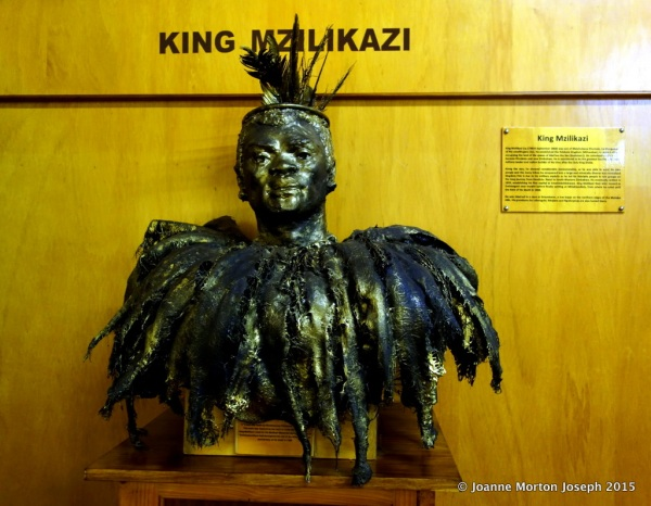 Bust of King Mz