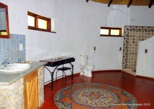 Bathroom at Hippo Creek
