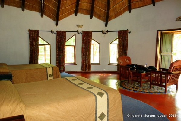 Bedroom at Hippo Creek