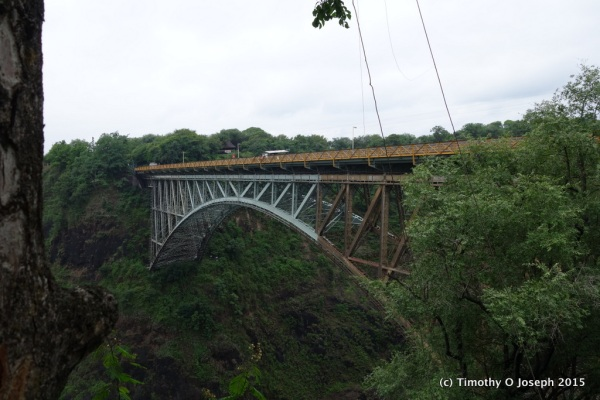 Could you bungie jump from this bridge?