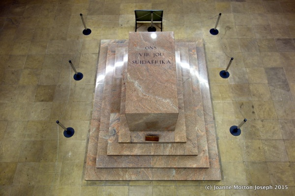 Cenotaph (meaning empty tomb) made from red granite