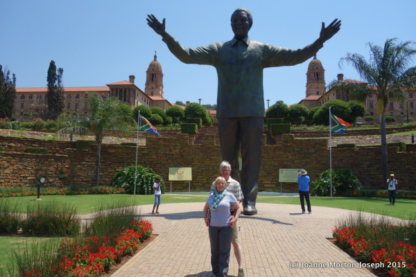 The largest statue of Nelson Mandela