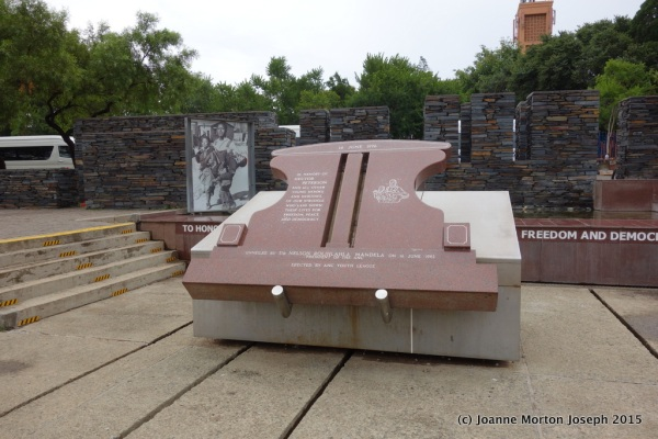 Soweto Uprising memorial dedicated to Hector Pieterson