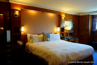 Bedroom in the suite