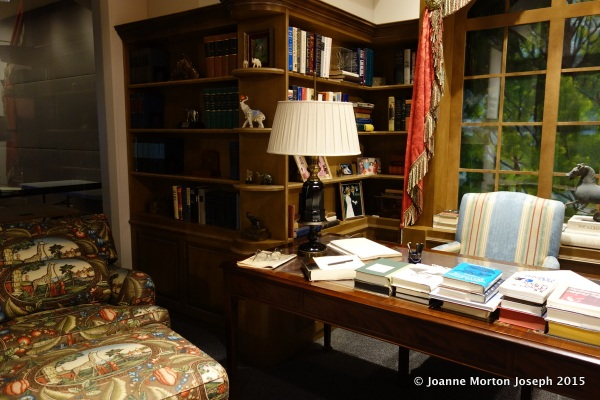 Recreation of his office