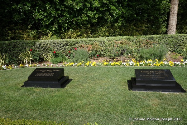 Burial site for both President and Mrs Nixon