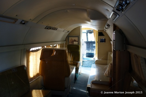Interior of Marine 1