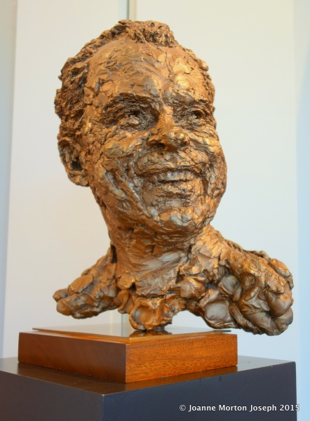 Bust of Richard M Nixon