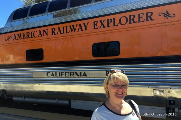 American Railway Explorer Vintage Railcar