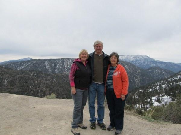 Overlook on Highway 18, between Running Springs and Big Bear