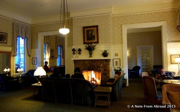 Lobby of Wawona Hotel