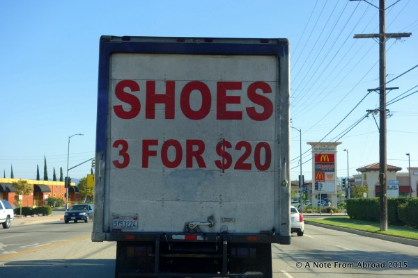 I wonder if the third shoe is for the left or right foot???